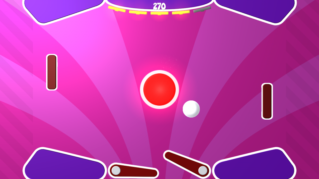 Slappy Paddles Level - Pinball